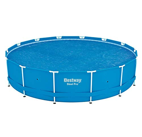 Bestway 58252 Solar Pool Cover, 14-Feet