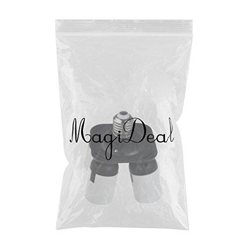 MagiDeal 4 in 1 Socket Adapter Converter, 1 to 4 E27 Base Lamp Holder Socket Splitter for Photo Studio, Work Shop, Garage Lighting by Unknown (Image #2)