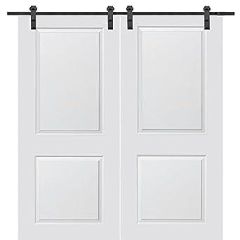 National Door Company Z020207 Solid Core Molded 2-Panel Primed 72\u0026quot; x