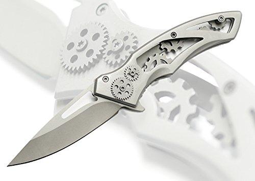 NEW 7.75″ STEAMPUNK Style Folding Pocket Knife