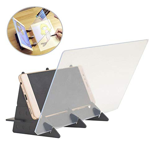 - lesgos Optical Drawing Board, Tracing Board Sketching Supplies, Sketch Wizard Image Reflection Projector Painting Board Drawing Aid for Kids Beginners