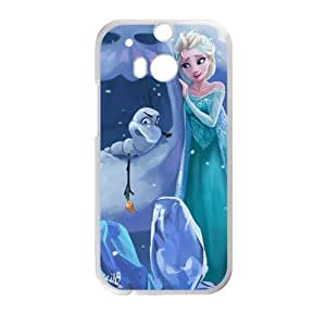 Frozen Princess Elsa and Olaf Cell Phone Case for HTC One M8