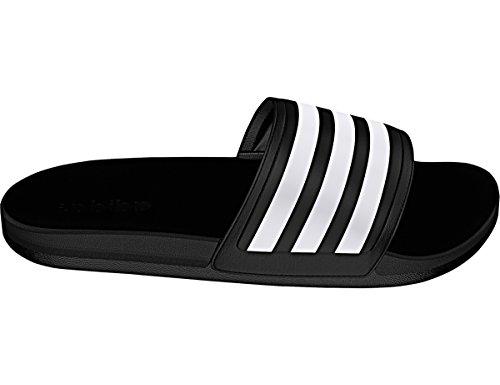 Adidas Originalsadilette CF+ C-M - Adilette CF+ C Hombres, Negro/Blanco/Negro, 13 D(M) US