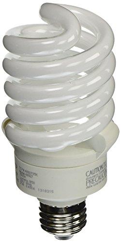 - TCP 4892735k CFL Pro A - Lamp - 100 Watt Equivalent (27W) Bright White (3500K) Full Spring Lamp Light Bulb
