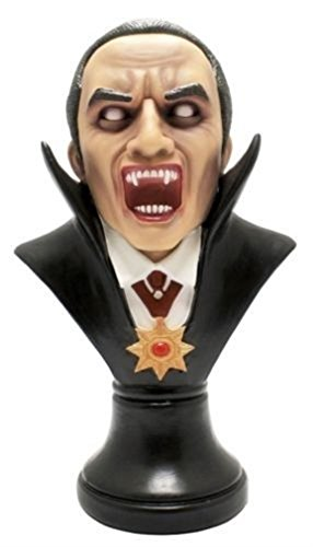 Ky & Co YesKela Large Blood Thirst Drakul Fangs Count Dracula Vampire Bust Figurine Fantasy 13