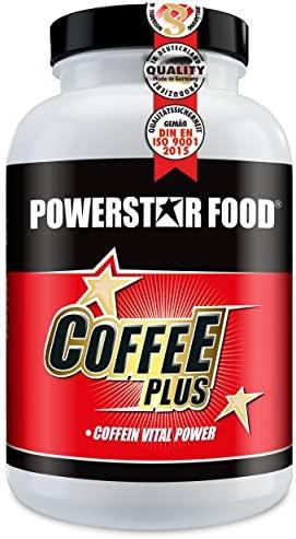 COFFEE PLUS | Dose 180 Tabletten | Koffein-Vital-Schub | Wachheit und Konzentration | Vegan