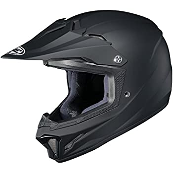 f349acac Amazon.com: HJC Solid Youth CL-XY 2 MX Motorcycle Helmet - Matte ...