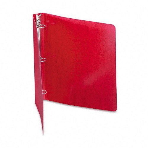 ACCO Recycled Presstex Round Ring Binder, 1in Capacity, Executive Red (Case of 20) by ACCO Brands (Executive Binders Red)
