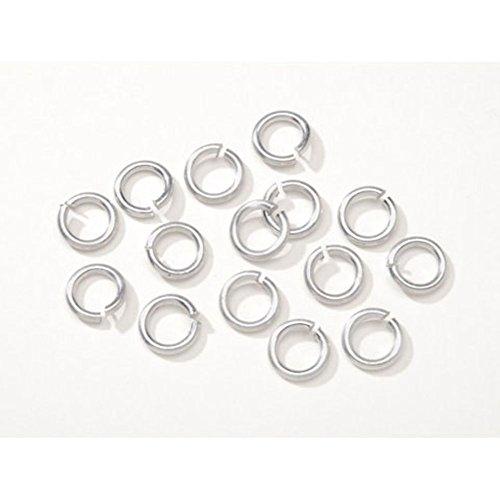 Jewelry Designer BG1029 Jump Ring Aluminum Silver 12Mm 120Pc