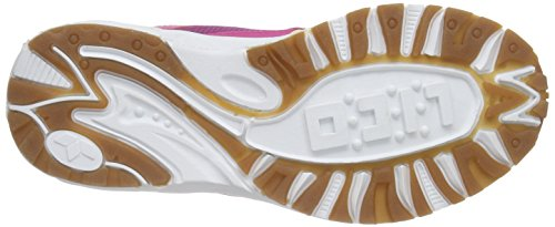 LicoBob VS - Zapatillas deportivas para interior niña Pink (pink/lila/lemon)