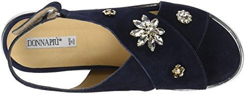 Donna Piu Women's Pippi Sling Back Sandals Blue (Marine 001) nz7CVLoWEn