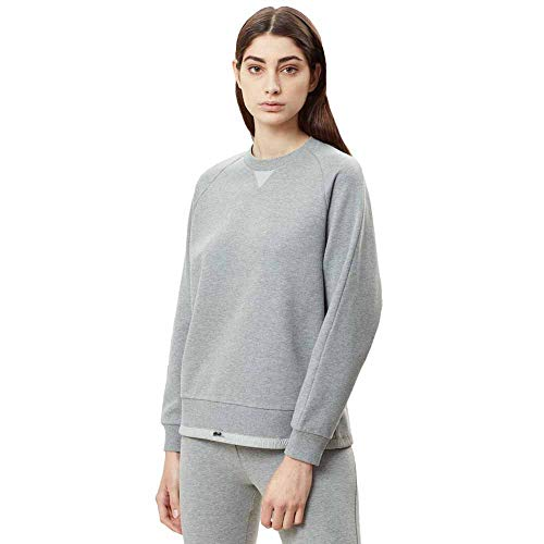 Sweatshirts Medium Female Napapijri And Barkat Melange Grey Hoodies M vSdfz