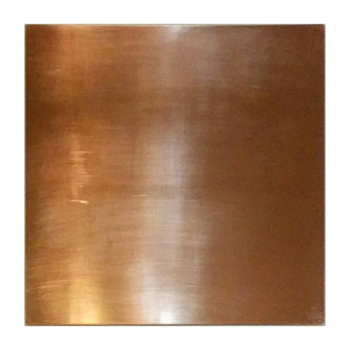 Copper Heat Diffuser, Simmer Plate, Heat Equalizer, Oven Plate, and a truly fine Defroster Plate - all in one (10 Inch) (Copper Plates)
