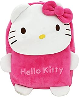 96beee2e53 Pandora Hello Kitty Soft Velvet Backpack Bags for 2 to 5 Years Kids for  School