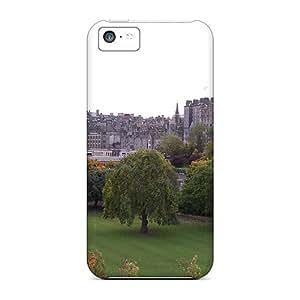 Hot Style PZqbz9630OTvNi Protective Case Cover For Iphone5c(autumn In Edinburgh)