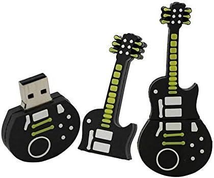 32GB Forma de la Guitarra Unidad Flash USB Disco Flash USB Disco USB Unidad de Memoria USB Unidad de Disco U Disco PenDrive Memoria Externa Memoria Flash Almacenamiento USB Memoria USB 2.0 (