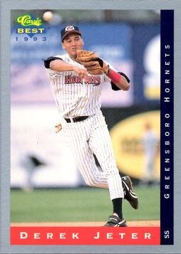 1993 Classic Best 91 Derek Jeter Baseball Card At Amazons