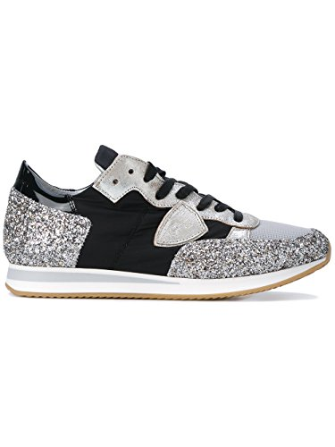 Argento Trld1100 Donna Philippe Pelle Model Sneakers 4XxxY7