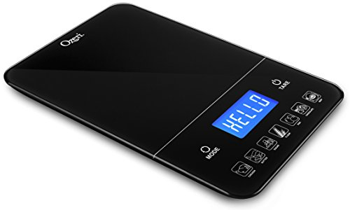 Ozeri Touch III 22 lbs  Digital Kitchen Scale with Calorie C