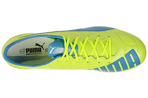 Evospeed Chaussures Puma Homme white safety Football FG de LTH atomic yellow 04 SL blue R4wxpUf