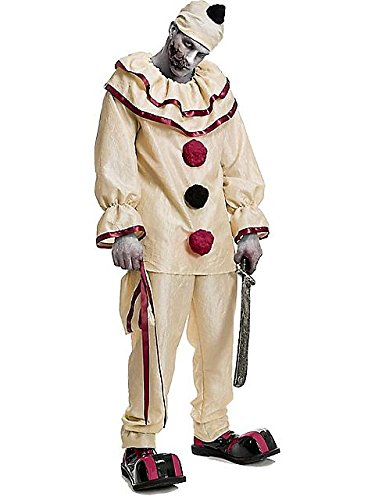 Charades Men's Horror Clown, As Sample, X-Large (Clown Pants)