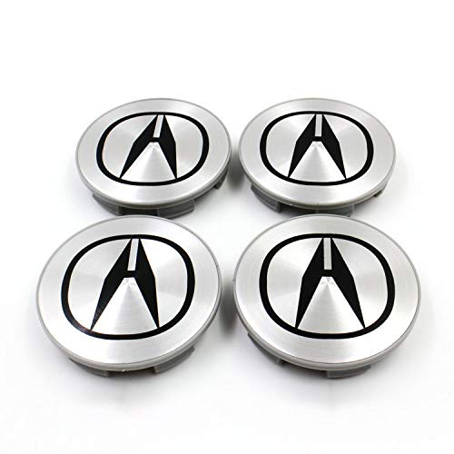 Acura Emblem - cars 4 X 69MM New Acura Wheel Center CAPS Emblem Set HUB TL CL TSX MDX RDX RSX 69MM(for Acura,69mm)