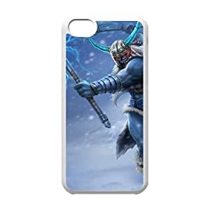 iPhone 5c Cell Phone Case White League of Legends Glacial Olaf NT2910503
