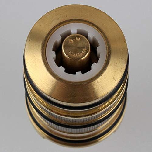 Cobeky Cartucho Termost/áTico de Ducha de Ba?O de Lat/óN y Manija para V/áLvula Mezcladora Mezclador Barra de Ducha Mezclador Grifo de Ducha Mezclador Cartucho de V/áLvula