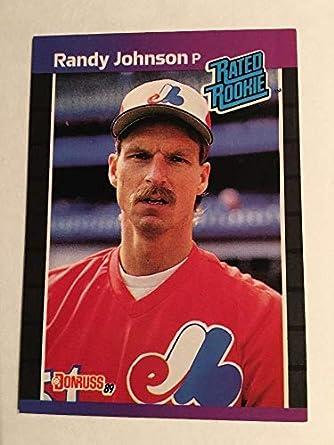 59004e6522 Amazon.com: Randy Johnson (Baseball Card) 1989 Donruss - [Base] #42:  Collectibles & Fine Art