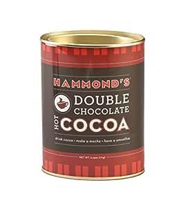 Hammonds Cocoa, Double Chocolate, 6.25 Ounce