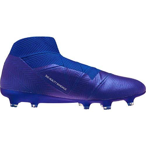 white FG Men's Nemeziz Blue Soccer 18 adidas Cleat n0z1gxnw