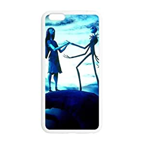Happy Halloween ghost and girl Case for Iphone 6