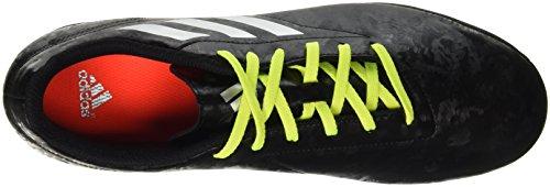 adidas Conquisto Ii Tf, Botas de Fútbol para Hombre Multicolore (Cblack/Silvmt/Solred)