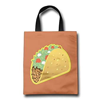 Amazon.com: Mexican Tacos comida rápida bolsa de la compra ...