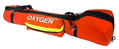 Dixie Ems Padded Oxygen O2 Carry Pack for E-Cylinder Tank from Everready First Aid