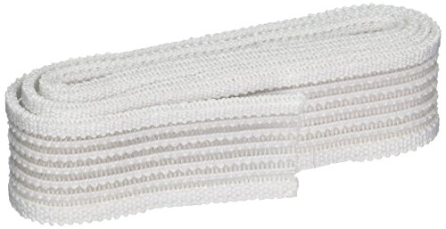 (Dritz 9309W Non-Roll Lightweight Woven Elastic, White, 7/8-Inch by 1-Yard)