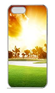 iPhone 5S Case, iPhone 5 Cover, iPhone 5S Warm Sunshine Hard Clear Cases