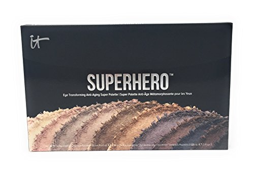 It Cosmetics Superhero Anti Aging Transforming Eyeshadow Palette -