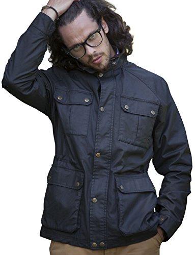 Chaqueta Abrigos 3050 Hombre Vedoneire Cera Brown algodón Chaqueta Jacket de para Wax marrón de SwFxqd8