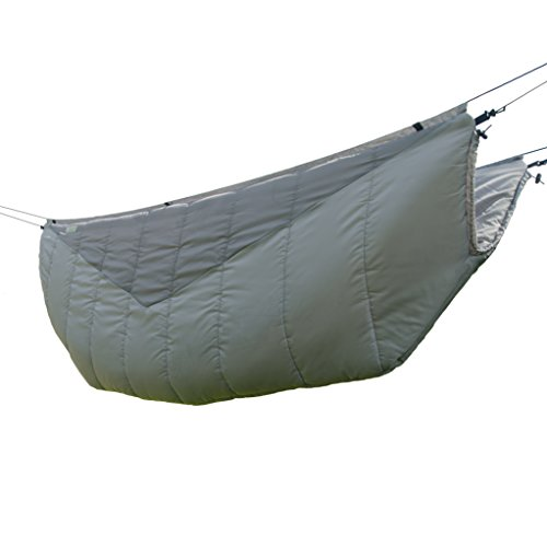 Go Outfitters The Adventure Under Quilt, Hammock Camping Insulation (Slate Gray)