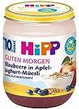 HiPP Guten Morgen Blaubeere in Apfel-Joghurt-Müesli, 6er Pack (6 x 160 g)