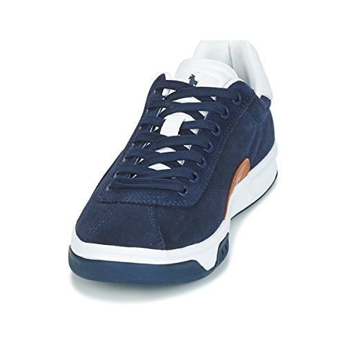 Lauren Blau Blau Mens Sneaker Court 100 Polo Low Ralph 5pq8xwW4