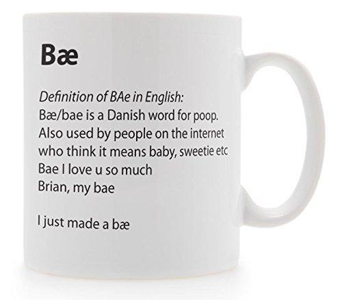 Diseño de alta definición de Bae taza diccionario contraeje: Amazon.es: Hogar
