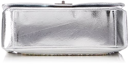 8634 silver Bag Shoulder Borse Silver Womens Silver Chicca qCRYwE