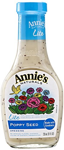 (Annies Homegrown Lite Poppy Seed Dressing, 8 Ounce)