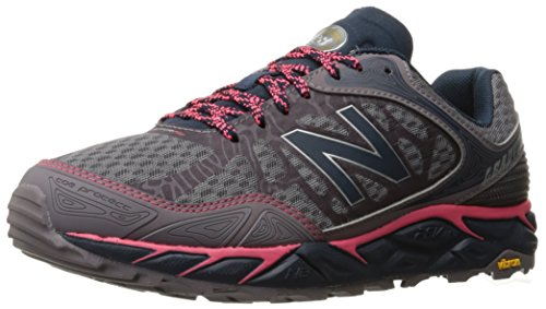 New Balance Women's Leadville Trail Running Shoe, Grey/Pink, 6.5 B US