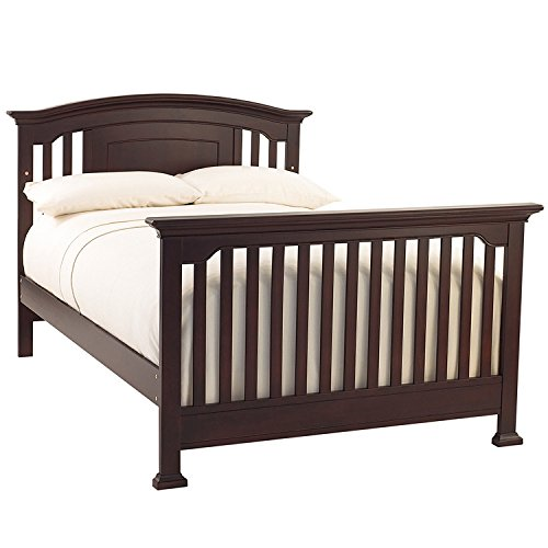 Full Size Conversion Kit Bed Rails for Baby Cache Chesapeak, Medford, Riverside & Windsor Cribs - Gray by CC KITS (Image #4)