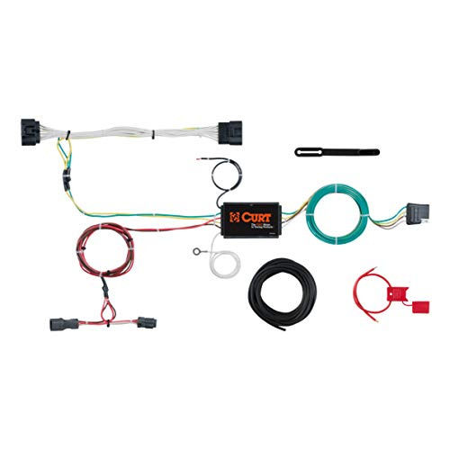 (CURT 56251 Vehicle-Side Custom 4-Pin Trailer Wiring Harness for Select Kia Sportage)