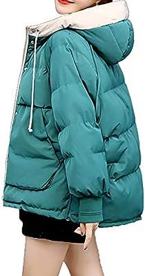 Abrigo De Algodón Chaqueta Corta De Otoño E Invierno Abrigo Corto De Gran Tamaño Gruesa Nueva Capa (Color : Verde, tamaño : L)