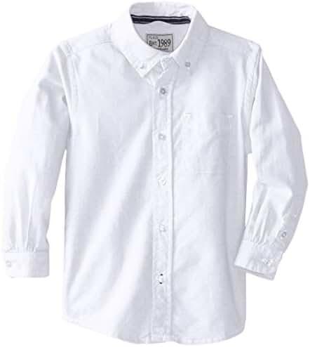 The Children's Place Baby Boys' Long Sleeve Uniform Oxford Shirt